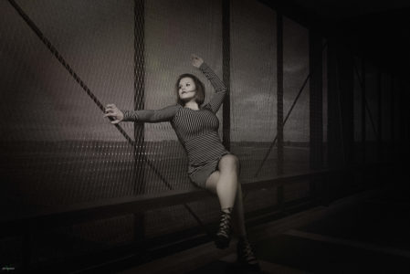 DS - Sensual Fotoshooting - Vatinga - Photography - BW - 7848